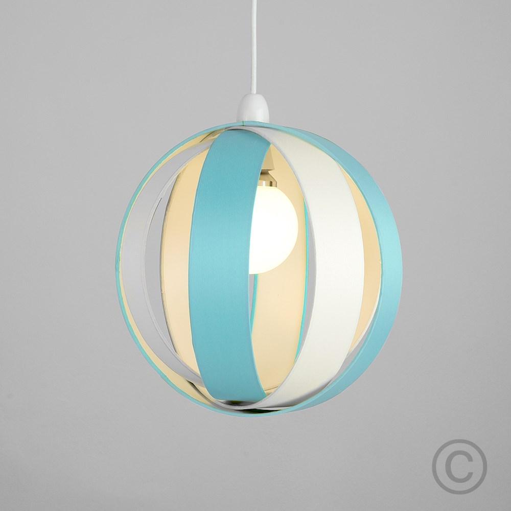 Minisun-Globe-DEL-plafond-lumiere-pendentif-nuances-Abat-jour-eclairage-Ampoule-DEL miniature 30
